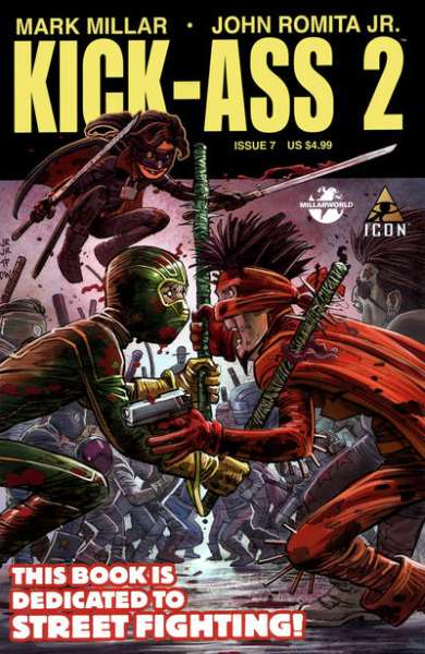 Kick-Ass 2 #7 comic books for sale