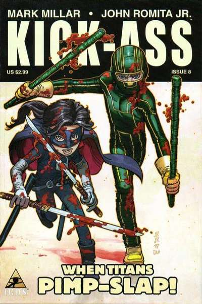 Kick-Ass #8 comic books for sale