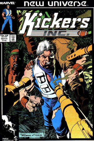 Kickers Inc. #10 comic books for sale