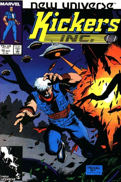 Kickers Inc. #12 comic books for sale