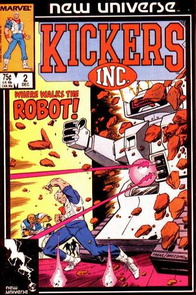 Kickers Inc. #2 Comic Books - Covers, Scans, Photos  in Kickers Inc. Comic Books - Covers, Scans, Gallery
