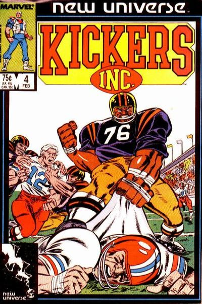 Kickers Inc. #4 comic books for sale