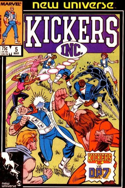 Kickers Inc. #5 comic books for sale