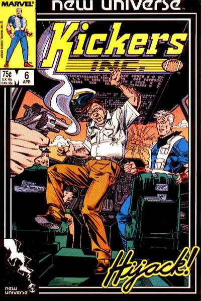 Kickers Inc. #6 comic books for sale