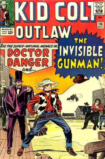 Kid Colt Outlaw #116 Comic Books - Covers, Scans, Photos  in Kid Colt Outlaw Comic Books - Covers, Scans, Gallery
