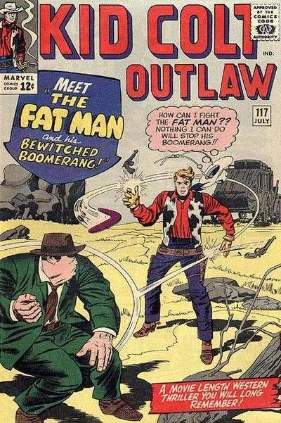 Kid Colt Outlaw #117 Comic Books - Covers, Scans, Photos  in Kid Colt Outlaw Comic Books - Covers, Scans, Gallery