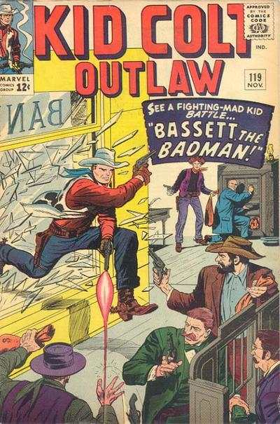 Kid Colt Outlaw #119 comic books - cover scans photos Kid Colt Outlaw #119 comic books - covers, picture gallery