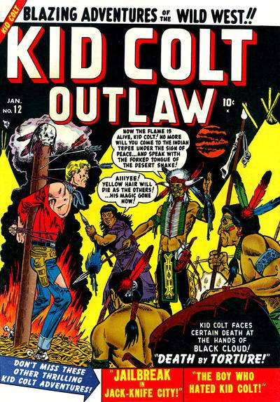 Kid Colt Outlaw #12 comic books - cover scans photos Kid Colt Outlaw #12 comic books - covers, picture gallery