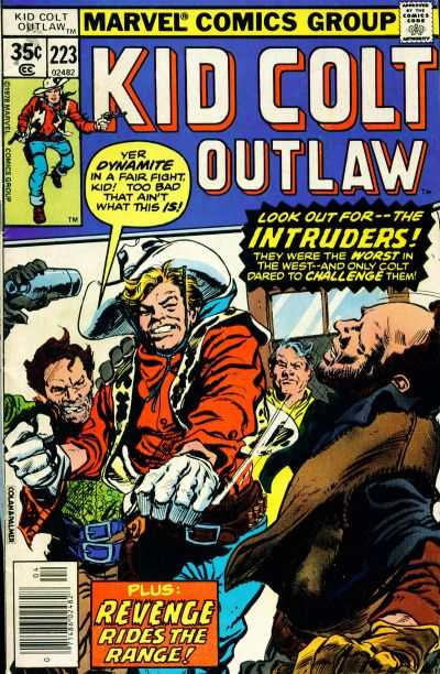 Kid Colt Outlaw #223 comic books - cover scans photos Kid Colt Outlaw #223 comic books - covers, picture gallery