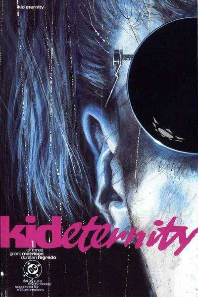 Kid Eternity comic books