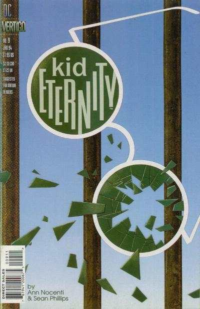 Kid Eternity #9 Comic Books - Covers, Scans, Photos  in Kid Eternity Comic Books - Covers, Scans, Gallery