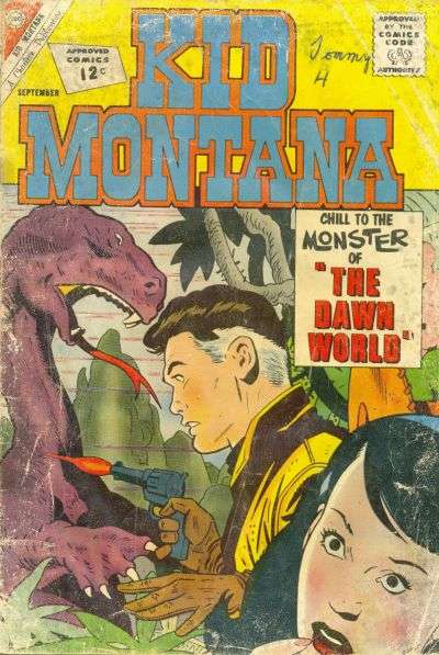 Kid Montana #36 Comic Books - Covers, Scans, Photos  in Kid Montana Comic Books - Covers, Scans, Gallery