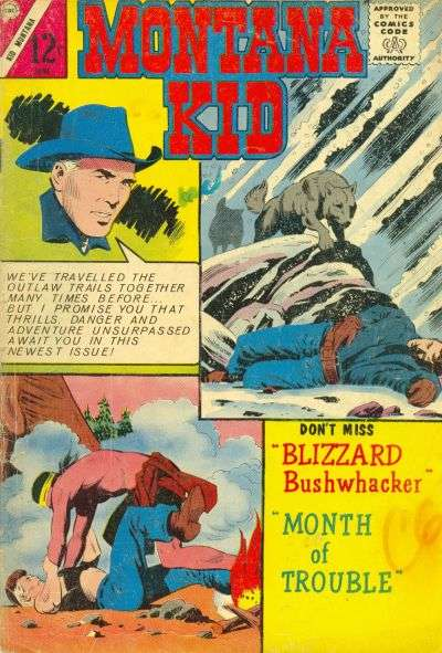 Kid Montana #46 comic books for sale