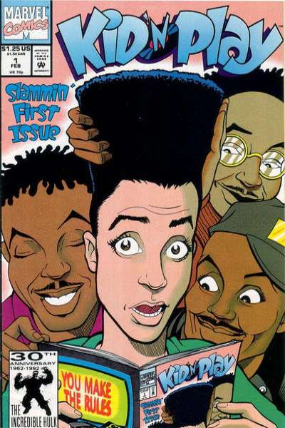Kid 'n Play comic books