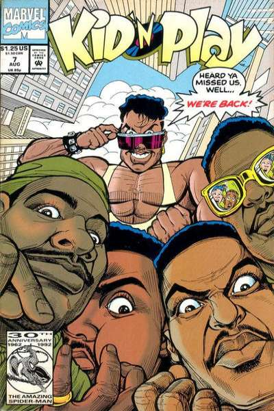 Kid 'n Play #7 comic books - cover scans photos Kid 'n Play #7 comic books - covers, picture gallery
