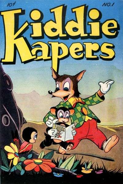 Kiddie Kapers comic books