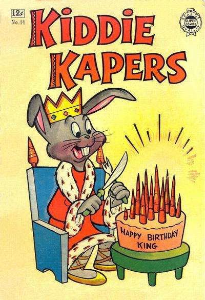 Kiddie Kapers #14 comic books for sale