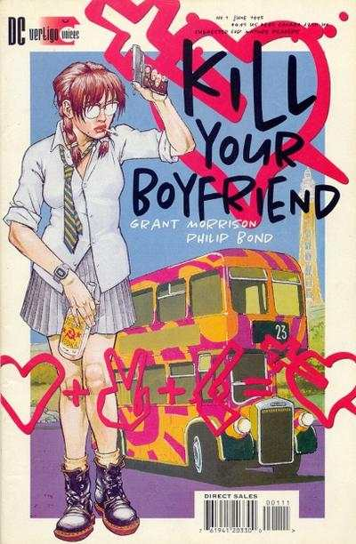 Kill Your Boyfriend #1 Comic Books - Covers, Scans, Photos  in Kill Your Boyfriend Comic Books - Covers, Scans, Gallery