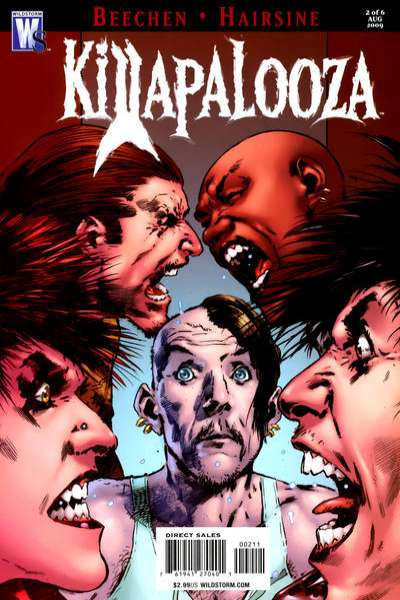 Killapalooza #2 comic books - cover scans photos Killapalooza #2 comic books - covers, picture gallery