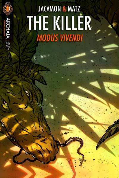 Killer: Modus Vivendi #1 comic books - cover scans photos Killer: Modus Vivendi #1 comic books - covers, picture gallery