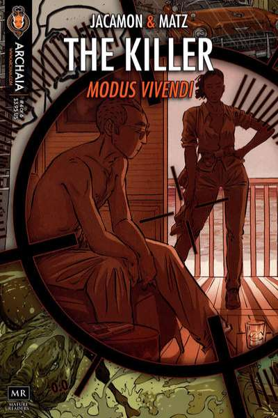 Killer: Modus Vivendi #4 comic books - cover scans photos Killer: Modus Vivendi #4 comic books - covers, picture gallery