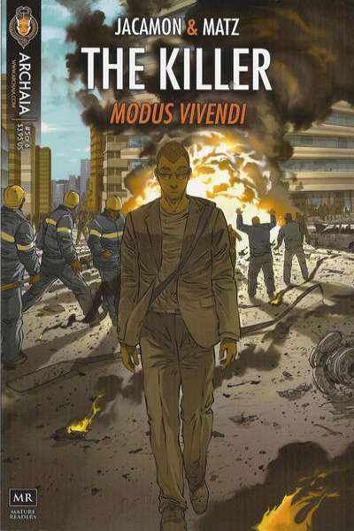 Killer: Modus Vivendi #5 comic books - cover scans photos Killer: Modus Vivendi #5 comic books - covers, picture gallery