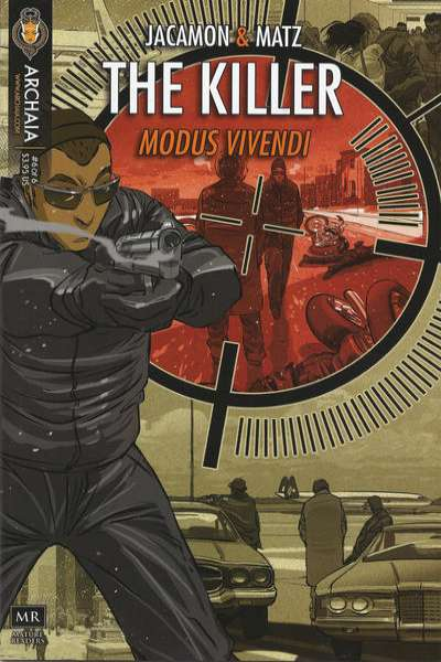 Killer: Modus Vivendi #6 comic books - cover scans photos Killer: Modus Vivendi #6 comic books - covers, picture gallery