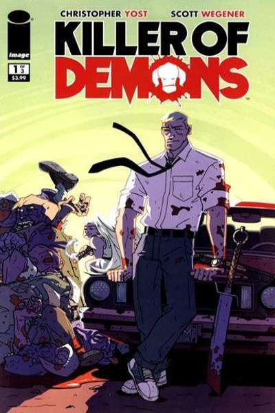 Killer of Demons comic books