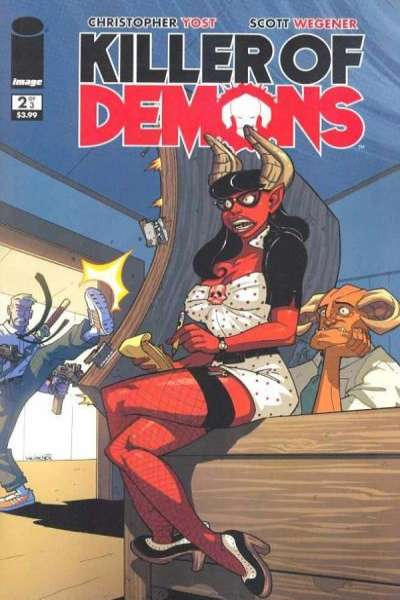 Killer of Demons #2 Comic Books - Covers, Scans, Photos  in Killer of Demons Comic Books - Covers, Scans, Gallery