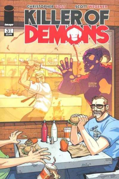 Killer of Demons #3 comic books - cover scans photos Killer of Demons #3 comic books - covers, picture gallery