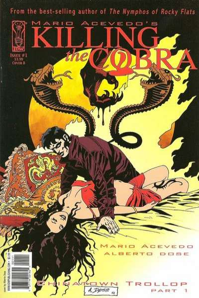 Killing the Cobra: Chinatown Trollop comic books