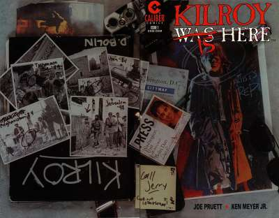 Kilroy is Here comic books