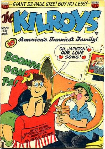 Kilroys #28 comic books for sale