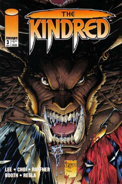 Kindred #3 Comic Books - Covers, Scans, Photos  in Kindred Comic Books - Covers, Scans, Gallery