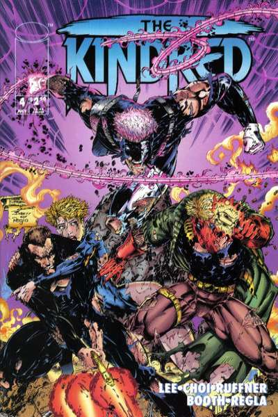 Kindred #4 Comic Books - Covers, Scans, Photos  in Kindred Comic Books - Covers, Scans, Gallery
