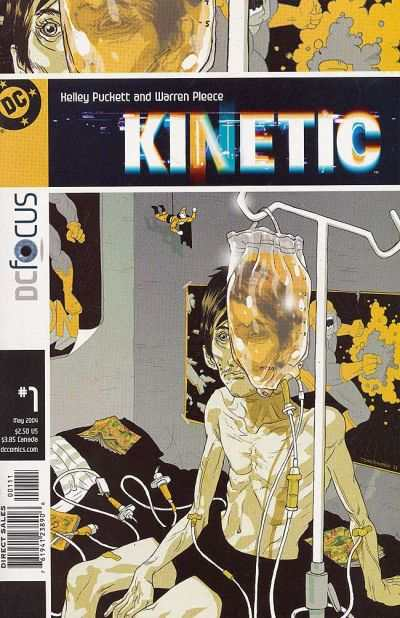 Kinetic #1 comic books - cover scans photos Kinetic #1 comic books - covers, picture gallery