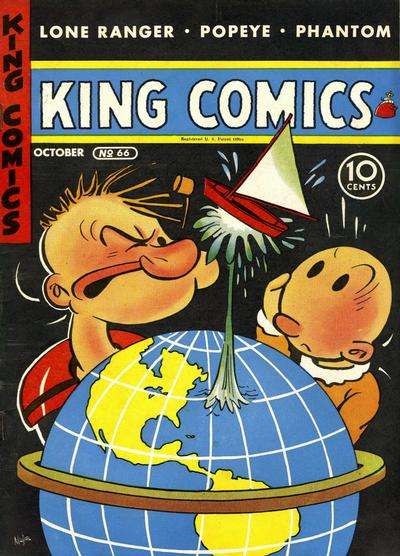 King Comics #66 comic books for sale