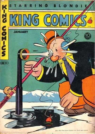 King Comics #93 comic books for sale