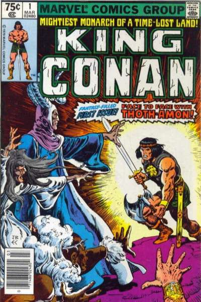 King Conan comic books