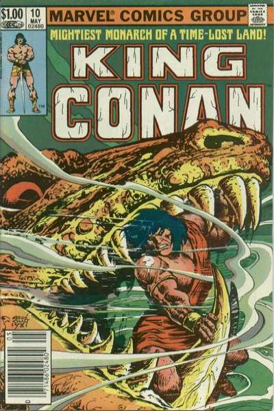 King Conan #10 Comic Books - Covers, Scans, Photos  in King Conan Comic Books - Covers, Scans, Gallery