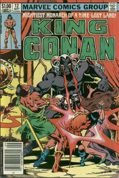 King Conan #12 comic books for sale