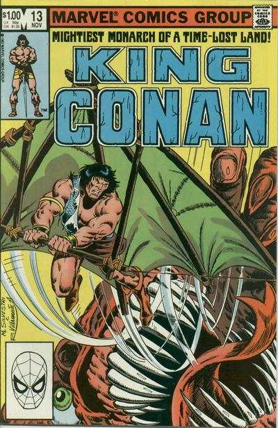 King Conan #13 Comic Books - Covers, Scans, Photos  in King Conan Comic Books - Covers, Scans, Gallery