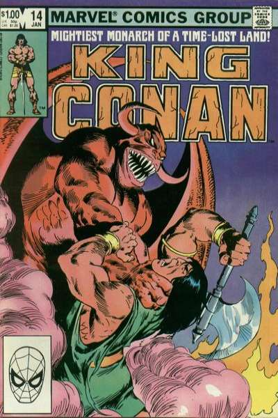King Conan #14 comic books for sale