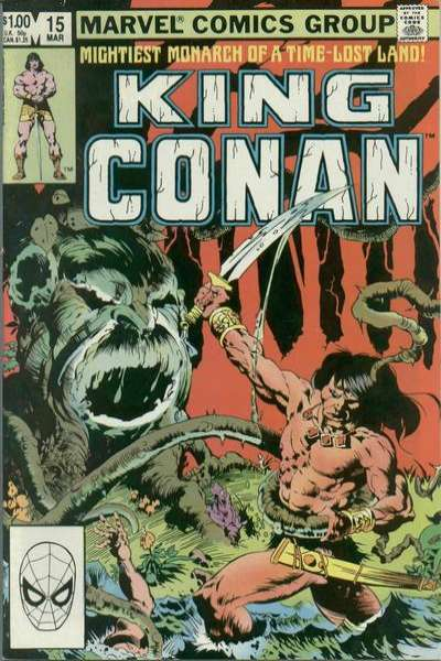 King Conan #15 comic books for sale