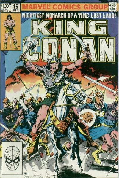 King Conan #16 Comic Books - Covers, Scans, Photos  in King Conan Comic Books - Covers, Scans, Gallery