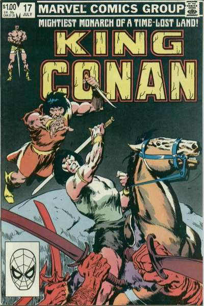 King Conan #17 comic books for sale