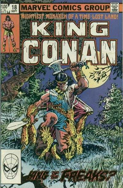 King Conan #18 comic books for sale