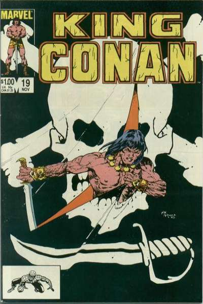 King Conan #19 comic books for sale