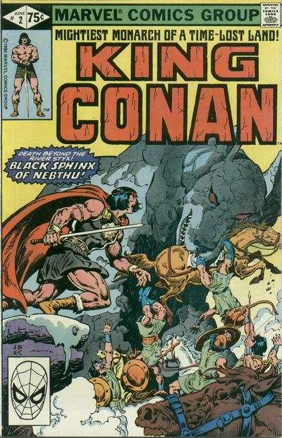 King Conan #2 comic books for sale