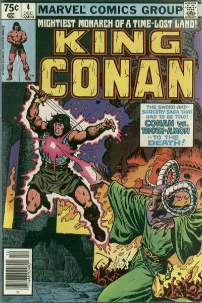 King Conan #4 comic books for sale